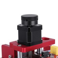 Red 1419 3 Axis Mini DIY CNC Router Standard Spindle Motor Wood Carving Engraving Machine Milling Engraver Woodworking Goods And Service Tax, Goods And Services, Diy Cnc Router, Milling, Wood Carving, Woodworking, Mini, Red, Wood Sculpture
