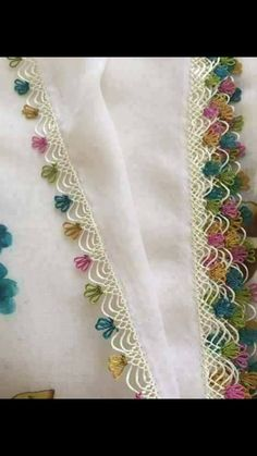 This Pin was discovered by Ahm Lace Patterns, Cross Stitch Patterns, Crochet Patterns, Crochet Unique, Crochet Motif, Floral Embroidery, Hand Embroidery, Swedish Embroidery, Crochet Boarders