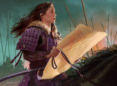 Play Mat [ Utaku Keyo ] Legend of the Five Rings LCG [ Michael Komarck ] High Fantasy, Fantasy Art, Character Concept, Character Art, Character Ideas, Character Design, Fantasy Warrior, Fantasy Samurai, Female Samurai