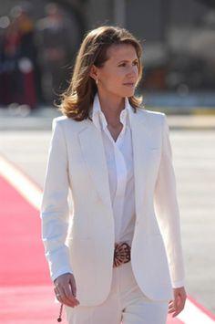 Asma al-Assad is the first lady of Syria