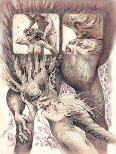 illustratrice dessinatrice bd auteure coloriste bd marine tumelaire reine et roi - Coloriste Bd
