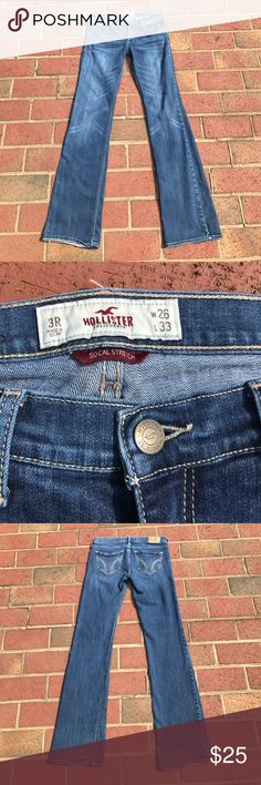 Hollister CO So Cal Venice Boot Stretch Jeans, 3 Hollister CO So Cal Venice Boot Cut Stretch Jeans, Size 3. Pre-owned.    (#60) Hollister Jeans Boot Cut