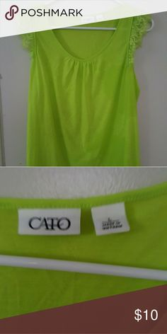 Women's Top Size Large Like new top..size large Cato Tops Tees - Short Sleeve