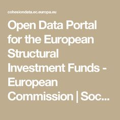 Open Data Portal for the European Structural Investment Funds - European Commission | Socrata
