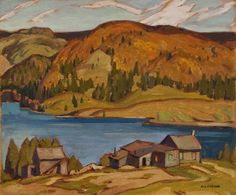 Head Lake, Haliburton is a painting created by Alfred Joseph Casson in Find out more at Mayberry Fine Art. Canadian Painters, Canadian Artists, American Artists, Group Of Seven Art, Group Of Seven Paintings, Emily Carr, Tom Thomson Paintings, Ontario, Most Famous Artists