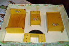 Boxed set of bedroom furniture by A E Twigg & Co | eBay