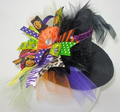 Spooktacular Mini Witch Hat