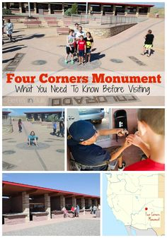 Four Corners Monument: What You Need To Know Before Visiting - a fun travel spot for family road trips!