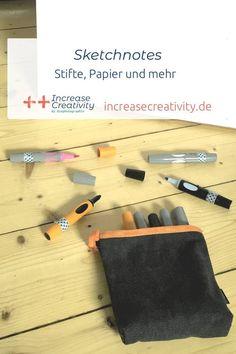 Sketchnotes - Stifte, Papier und mehr Marker, Sketch Note, Workshop, Lettering, Challenges, 29 Days, Creative, Blogging, Ring Binder