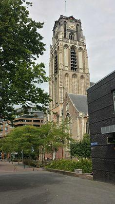 Laurenskerk, zijde Wijde Kerkstraat, Rotterdam the Netherlands