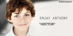We have Hector cast for Insurgent: Lynn and Shauna's little brother! HOW EXCITING!!