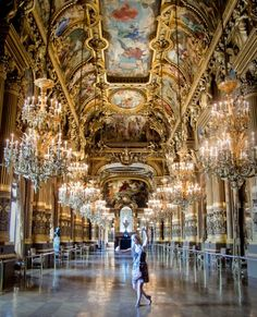 Dreaming of a ball in the Paris Opera House