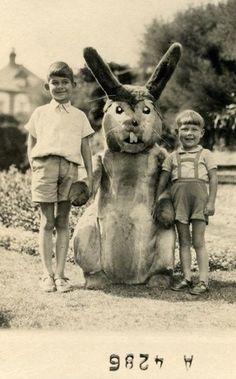 Creepy Scary Easter Bunny Rabbit!