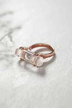 rock crystal ring | jewels