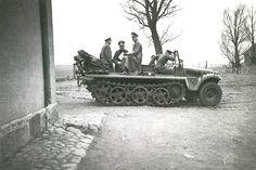 German Demag D-7 SD-Kfz 10 one ton halftrack.
