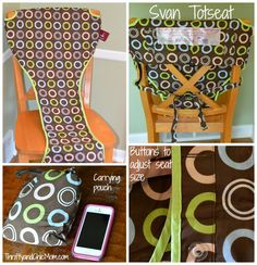 Svan Totseat: Turn Any Chair Into A Highchair Giveaway ends (9/23)