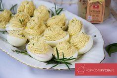 Jajka faszerowane chrzanem zimbirem