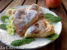 La Chicchina: Cuoricini di mela (velocissimi) #mela #sanvalentino #colazione #food #apple