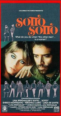 Directed by Lina Wertmüller.  With Enrico Montesano, Veronica Lario, Luisa De Santis, Mario Scarpetta. While walking in a garden of statues of women, Ester and her friend Adele see two women kissing. Ester then dreams of kissing Adele and later imagines making love to her while she is in the arms of Oscar, her husband. She confesses her passion to Adele and also tells Oscar that she loves another. His jealousy takes over: he assumes it's a man, and he begs Adele to help him discover this ...