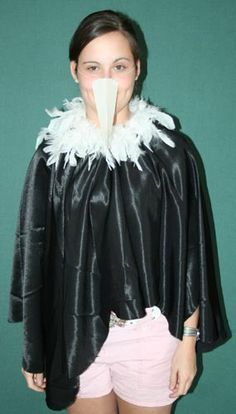 jungle book kids costumes - Google Search - Love the cape idea for our vultures. I have some feather boas.