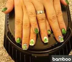 Nail art by Bamboo Nails and Spa Nail Spa, Class Ring, Bamboo, Art, Art Background, Kunst, Performing Arts, Art Education Resources, Artworks