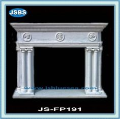 Stone Carved marble fireplace mantel White Fireplace Mantels, Marble Fireplaces, Marble Carving, Stone Fountains, Stone Cladding, Stone Veneer, Wooden Crates, Animal Sculptures, Sora