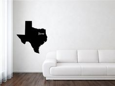 Texas Vinyl, Texas State Decal, States, United States, State Decal, Vinyl, Adhesive Vinyl, Removable Vinyl, Matte, Decals, Vinyl Decals by wildoakvinyl on Etsy