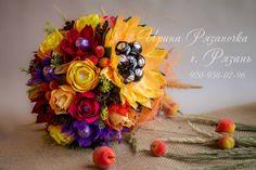 Gallery.ru / Фото #147 - Ручные букеты - Ryazanochka-II Бумажные Цветы, Ювелирные Украшения, Декор