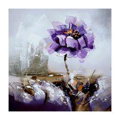 Purple Ice Flower