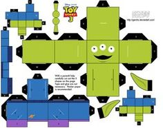 Alien Toy Story - Cubeecraft by Garcho