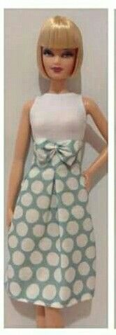 Cute & sophisticated Barbie dress. Fashion doll, Barbie doll