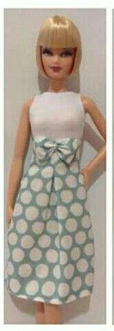 Cute & sophisticated Barbie dress. Fashion doll, Barbie doll