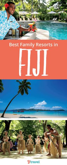 5 best family resorts in Fiji. Planning a Fiji family holiday? Need tips on where to stay in Fiji? Here are the 5 Best Family Resorts in Fiji for your family holiday to the Fijian Islands. #FamilyTravel #Fiji #FijiIslands