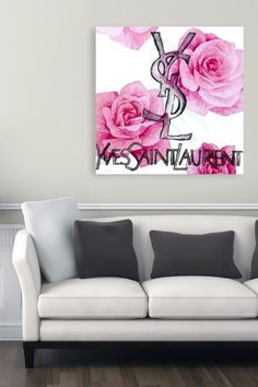 Oliver Gal Blooming Yves Canvas Art by Oliver Gal Gallery on @HauteLook