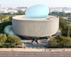 Diller Scofidio + Renfro's Gigantic Hirshhorn Bubble to Ooze Out of the Hirshhorn Museum in Washington D. Read more: Diller Scofidio + Renfro's Gigantic Hirshhorn Bubble to Ooze Out of the Hirshhorn Museum in Washington D. Architecture Awards, Modern Architecture, Amazing Architecture, Installation Architecture, Museum Architecture, Bubble Bobble, Hirshhorn Museum, Giant Bubbles, New Museum
