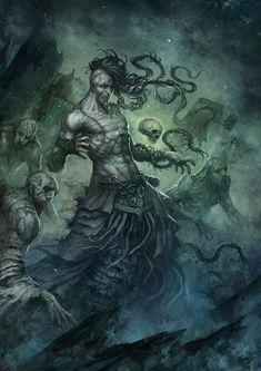 Necromancer by SARYTH.deviantart.com on @deviantART