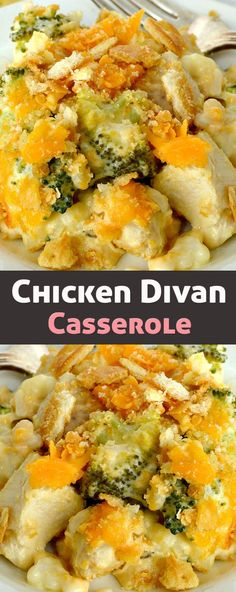 Chicken Broccoli Divan Recipe Pinterest Chicken Broccoli