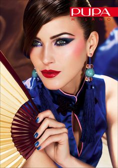 China Doll,   Autumn make-up Collection 2012    http://www.pupa.it/ita/Collection/collezione-autunno-2012.aspx