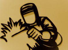 Welding Gear, Welding Crafts, Metal Welding, Welding Projects, Metal Crafts, Diy Projects, Welding Logo, Metal Projects, Metal Tools