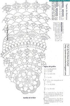 Pattern by Pink Rose Crochet Free Crochet Doily Patterns, Crochet Circles, Crochet Diagram, Crochet Round, Crochet Chart, Crochet Home, Thread Crochet, Love Crochet, Filet Crochet