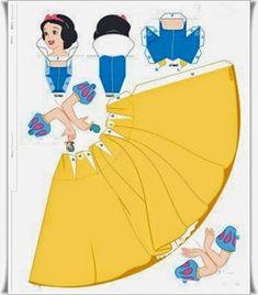 Kağıttan Elişi Disney Prenses Yapımı Resimli Anlatım 1