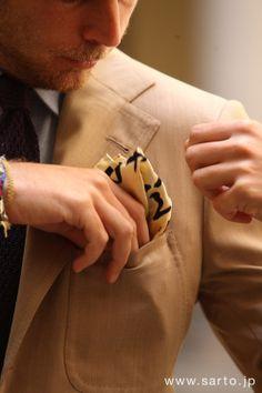 how to fold a pocket handkerchief