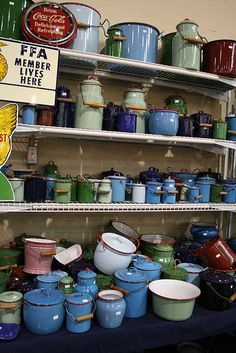 vintage enamelware by penny_carnival, via Flickr