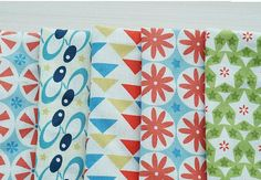 Scandinavian Nordic Vintage Colorful Pattern by luckyshop0228, $17.50