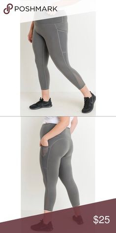 6d1c373376a PREORDER - Plus Size Pocket Leggings Boutique
