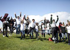 GIG Photo Walk - Flash Mob: Group at Dolores Park.  Photo Credit: Gaurav Mitta