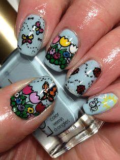 #Unhas #Decoradas #Flores