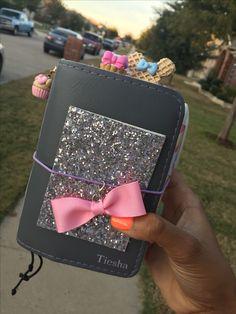 Sugar icing foxy fix! #foxyfix #travelersnotebook #chicsparrow #plannergirl #organizedwithtiesha