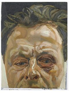 Lucian Freud: Self Portrait, 1969-70. Oil on canvas - private collection