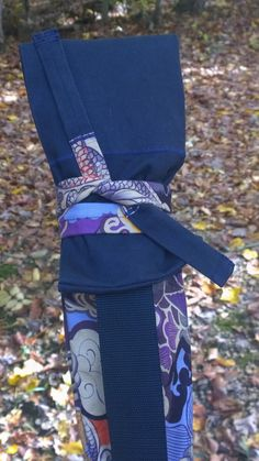Tatsu Purple Dragon 3 Weapons Bag / Aikido by allearthlings